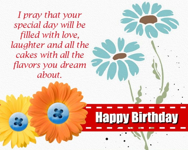 Christian Birthday Wordings And Messages Wordings And