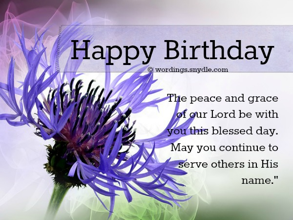 Christian Birthday Messages Wordings And Messages