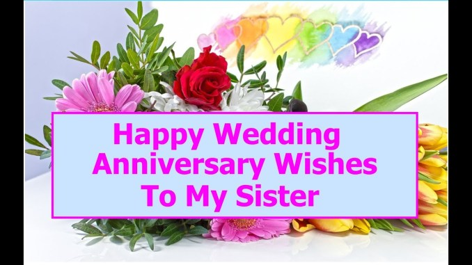 Anniversary Wishes for Sisters