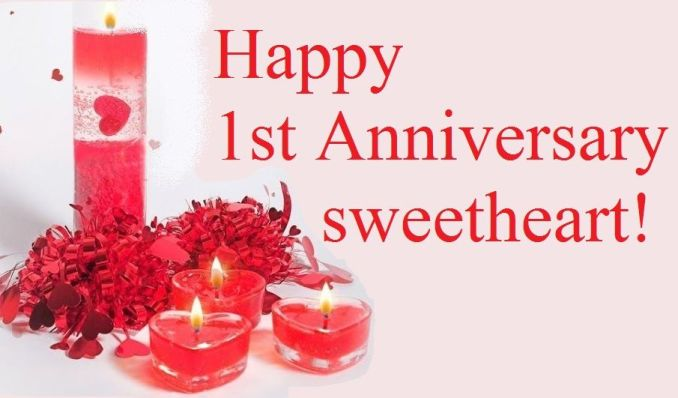 First Anniversary Wishes for Husband