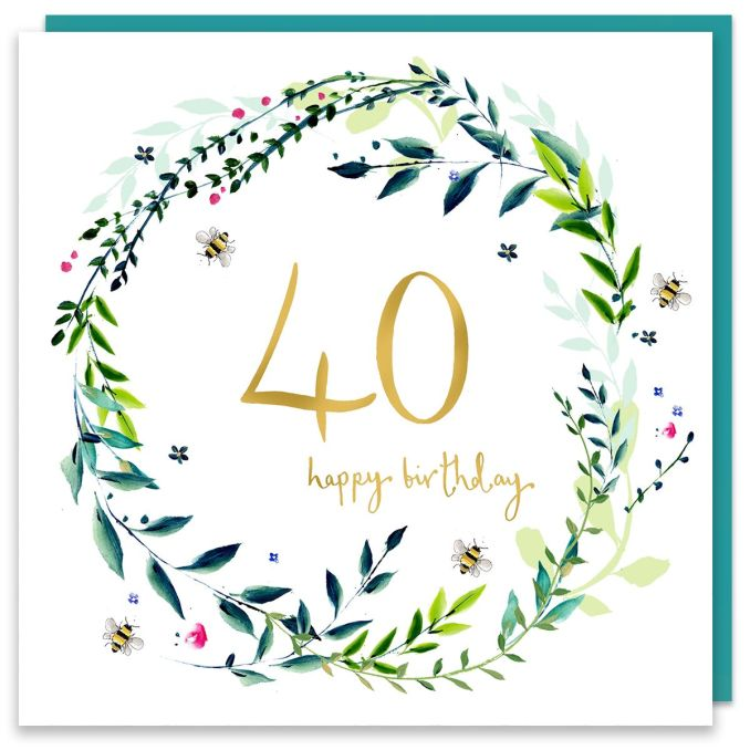 Exciting and Cool Ways to Wish Someone a Happy 40th Birthday
