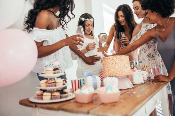 Beautiful Baby Shower Cake Sayings