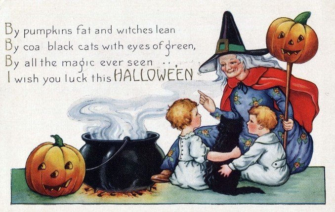 Halloween Greetings  Sure to Produce Chuckles