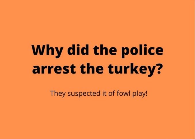 Brilliant Turkey Puns about Beak