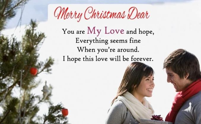 Christmas Messages and Wishes for Wife
