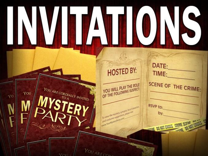 nsightful Murder Mystery Party Invitation Wording.