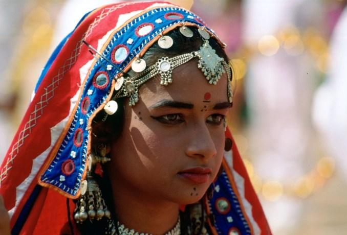 Elegant Indian girl