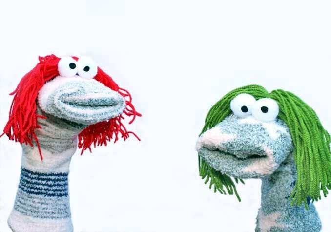Sock Puppets Idea