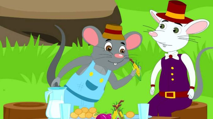 The Town Mouse and the Country Mouse Animal Story