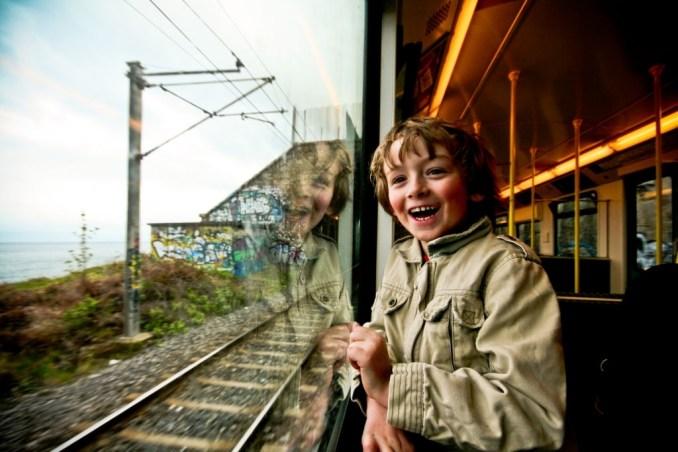 Irish Boy in Train