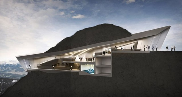 Messner Mountain Museum by Zaha Hadid (1)