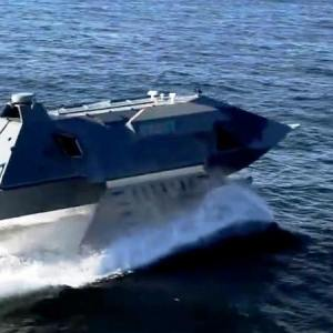 Ghost fast stealthy attack boat