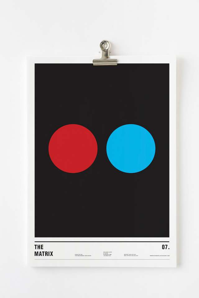 Wordlesstech  Minimalist Posters Of Famous Films
