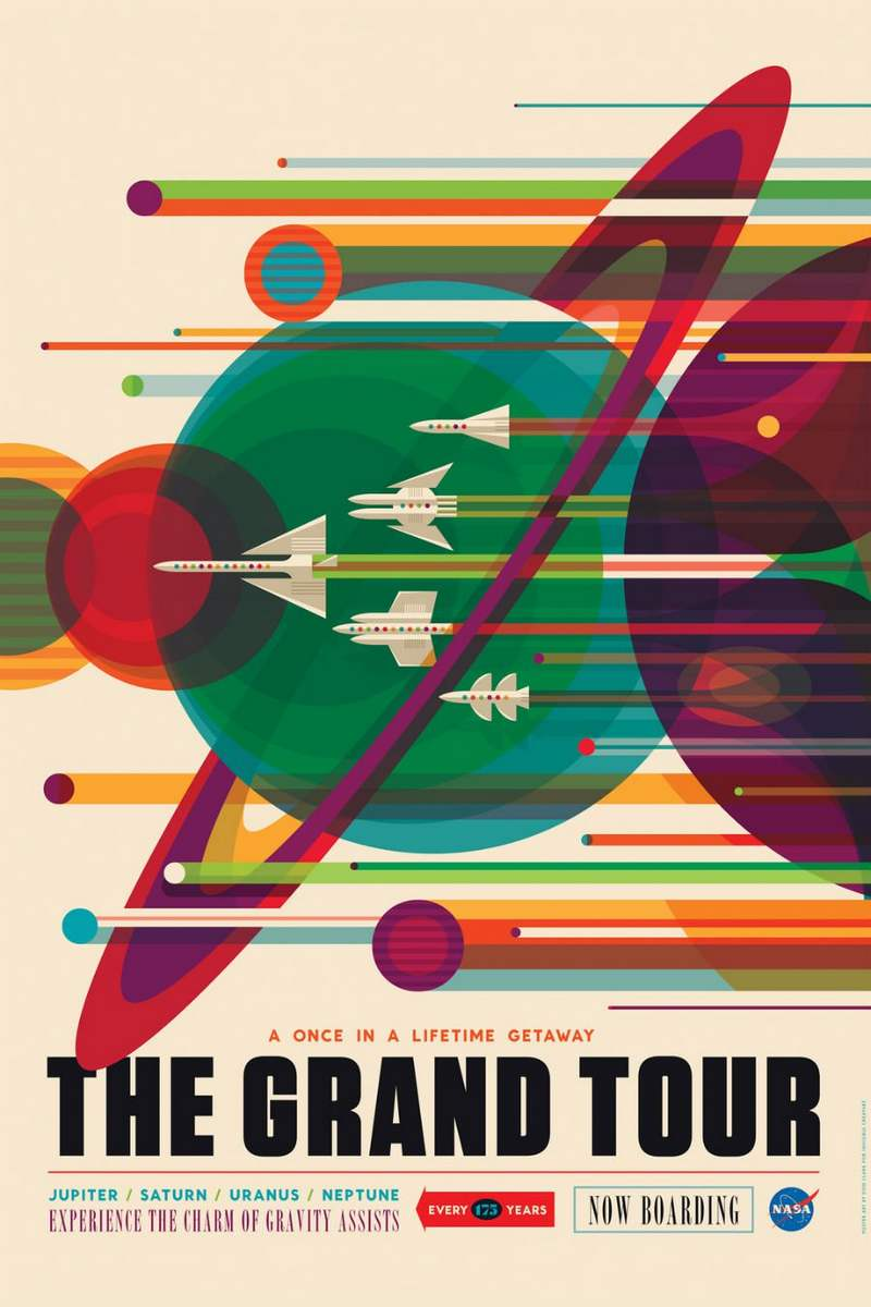 Wordlesstech Nasa S New Awesome Space Tourism Posters