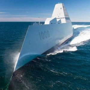 Navy gets the keys to the Zumwalt-class destroyer