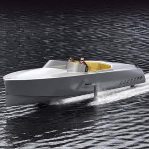 Edorado Marine electric speedboat