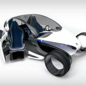 E- legance futuristic electric car