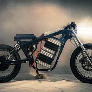Night Shift electric motorcycle