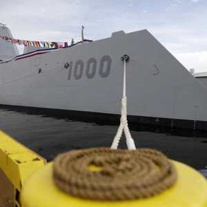 Largest-ever Destroyer joined US Navy