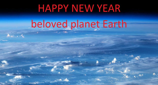 wordlessTech | HAPPY NEW YEAR beloved planet Earth