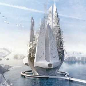 Futuristic floating skyscraper to reverse climate change