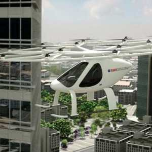 Volocopter as an Autonomous Air Taxi in Dubai