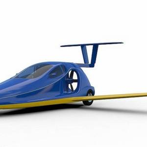 Switchblade three wheel street legal Flying car