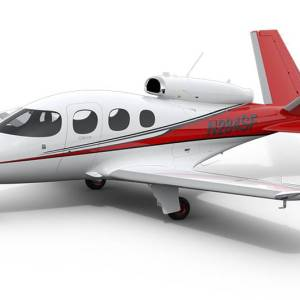The Cirrus Vision Jet has a built-in parachute