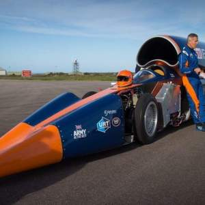 Bloodhound supersonic car has run out of gas
