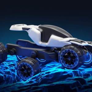 Ferox Azaris six wheeled off-road advanced vehicle