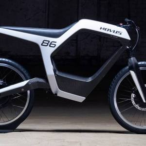 Novus stylish electric motorbike