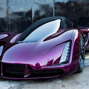 World's first 3D printed hypercar