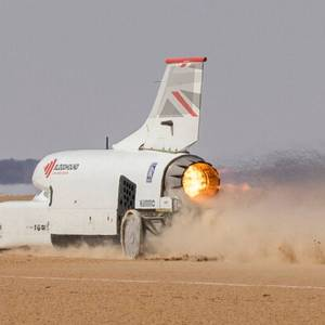 Bloodhound smashed 600mph target speed