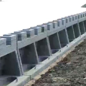 World's First 3D Printed River Revetment Wall