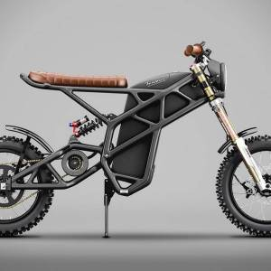 Truvor electric custom Scrambler