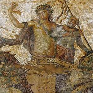 Uncovering the stunning Ancient Greek mosaic of Dionysus
