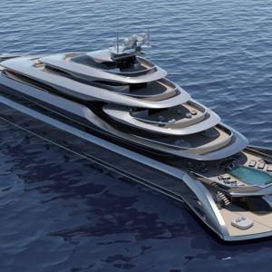 Indah 120 meters superyacht