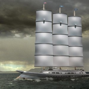 Narvalo 134 meter Polar Class sailing yacht