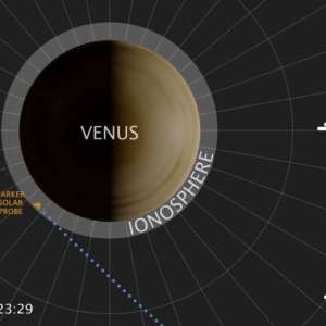 Listen to the strange Radio Emission from Venus