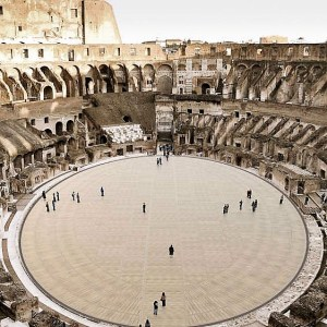 The new Arena of the Colosseum