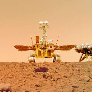 Zhurong- New Rover on Mars