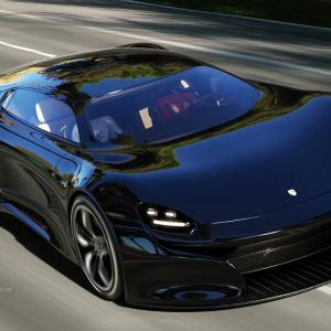Porsche GTE Grand Tourer concept