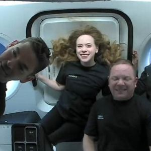 SpaceX's All-Civilian Inspiration4 Mission in Orbit