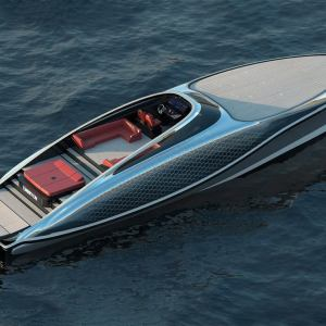 Embryon 24 meters Translucent yacht