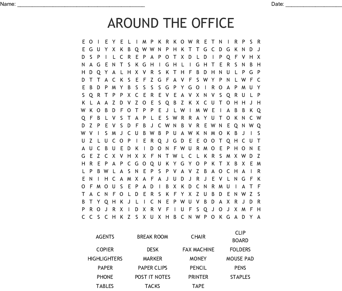 100th Day Of School Word Search