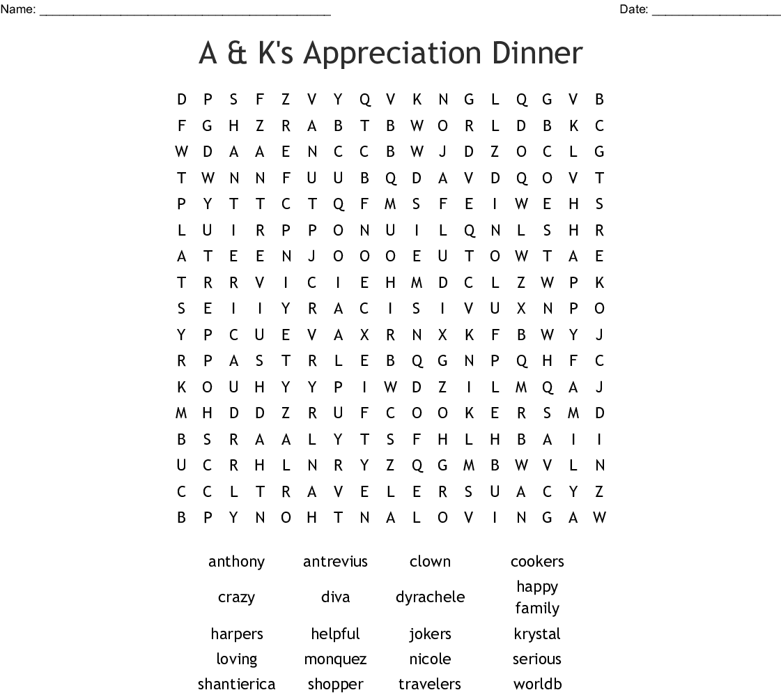 Dad S 50th Birthday Puzzle Word Search