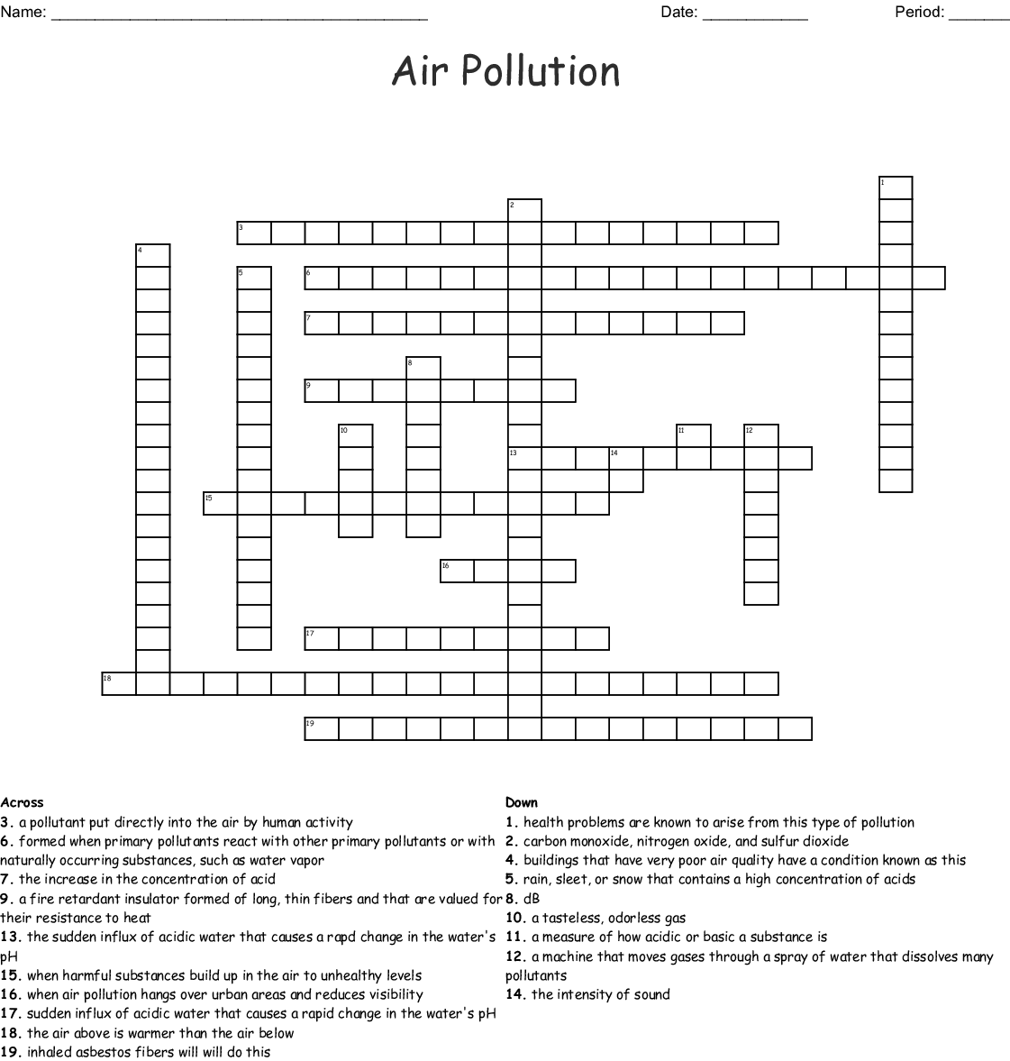 Air Crossword