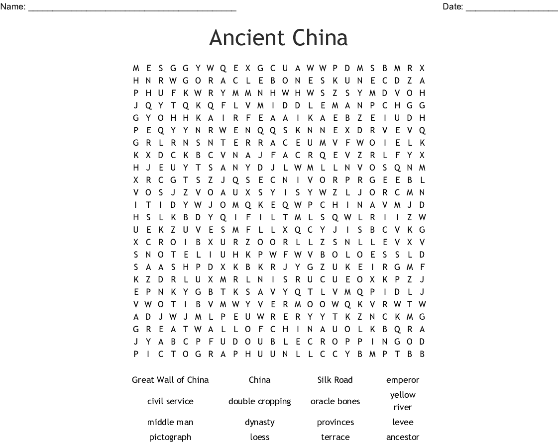 hight resolution of River Dynasties In China Worksheet Answers - Worksheet List