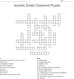 Ancient Greece Puzzles Worksheets   Printable Worksheets and Activities for  Teachers [ 1107 x 1121 Pixel ]