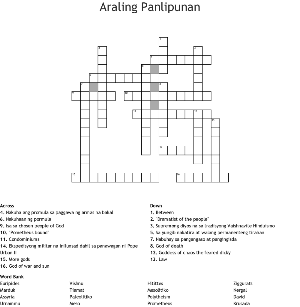 medium resolution of Araling Panlipunan Grade 2 Worksheets   Printable Worksheets and Activities  for Teachers